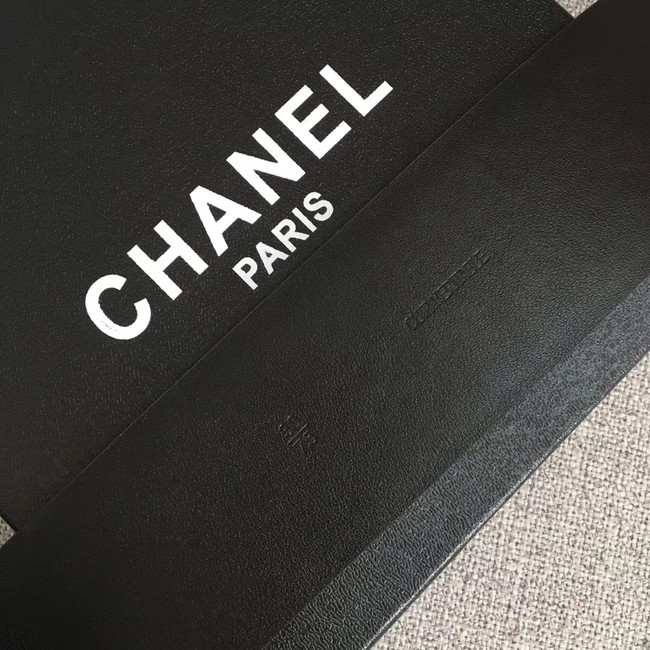 Chanel Wide leather belt with 53 mm CC4265 red