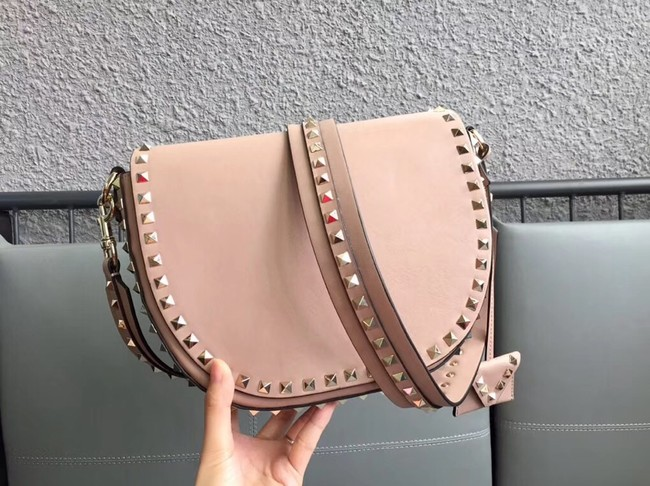 VALENTINO leather shoulder bag 0781 apricot