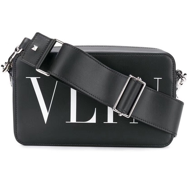 VALENTINO leather bag 0048 black