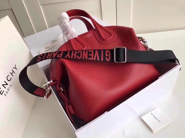 GIVENCHY leather tote 9983 red