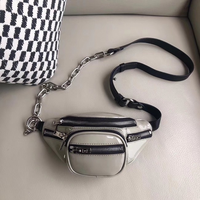 Alexander Wang leather Mini-pocket 0002 grey