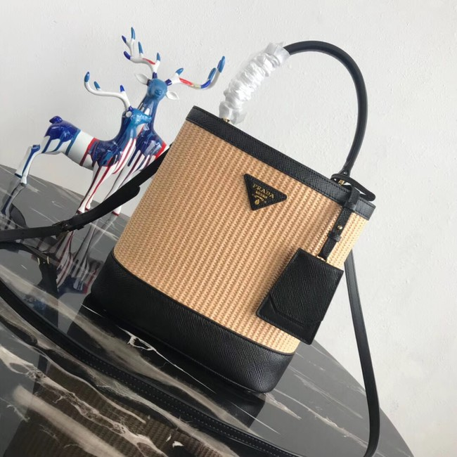 Prada Double Medium bag 1BA210 black