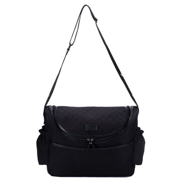 Gucci Womens Lifestyle Diaper Bags 123326 Black
