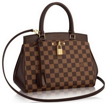 Louis Vuitton Damier Ebene Canvas Rivoli MM Bag N41150