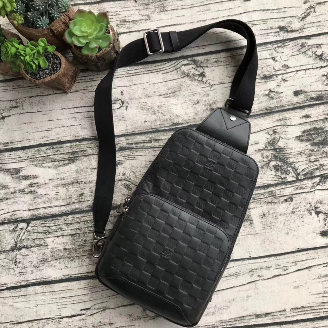 Louis Vuitton Damier Graphite Canvas 41719 black