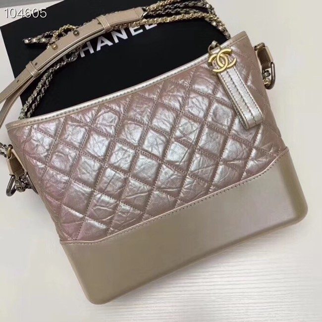 Chanel gabrielle hobo bag A93824 dark pink