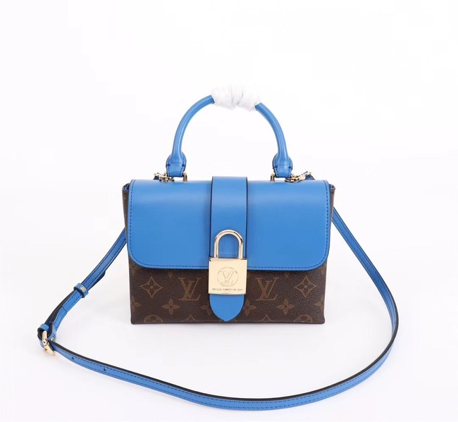 Louis vuitton LOCKY BB M43129 blue
