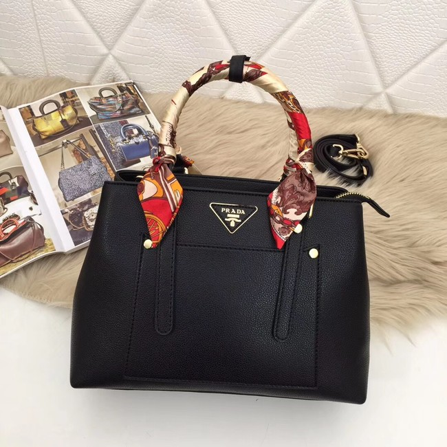 Prada Calf leather bag 5021 black