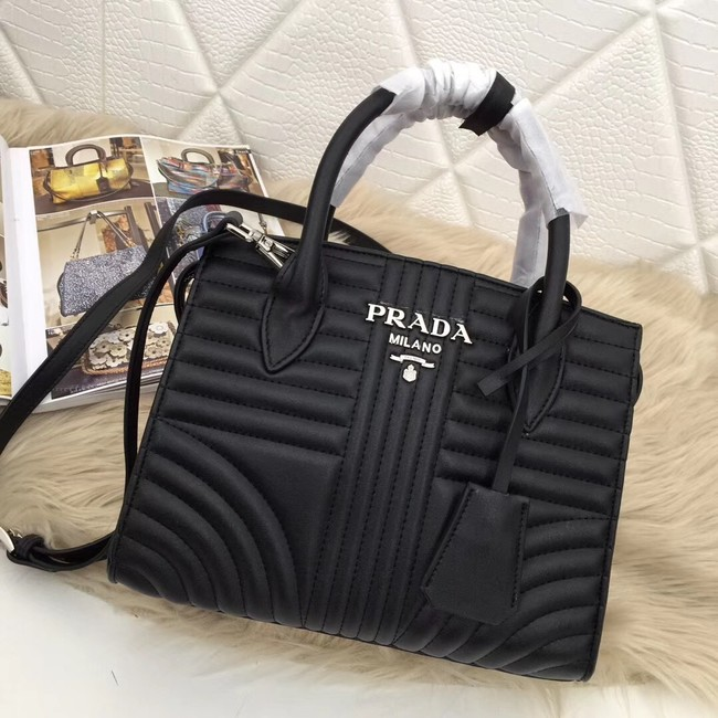 Prada Calf leather bag 1BA045 black