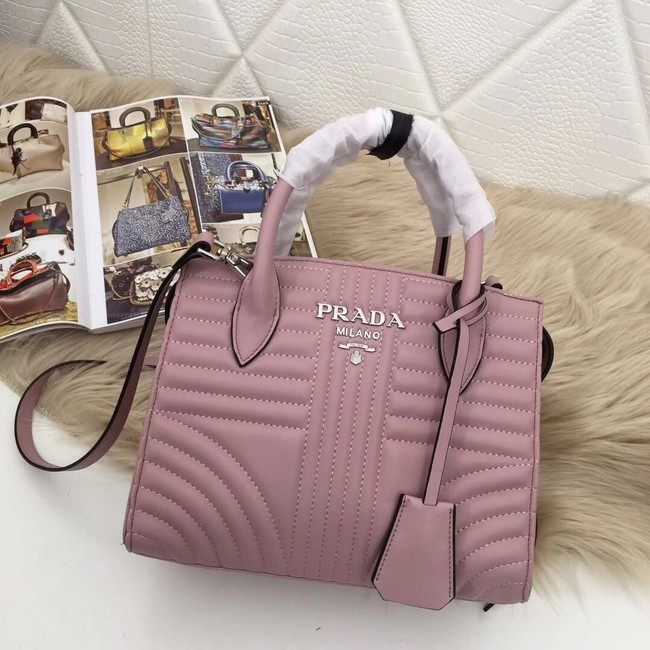Prada Calf leather bag 1BA045 pink