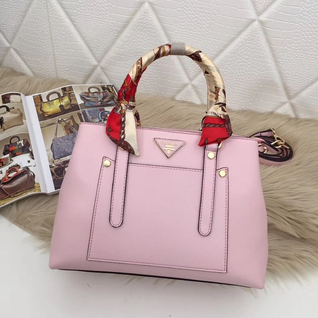 Prada Calf leather bag 5021 pink