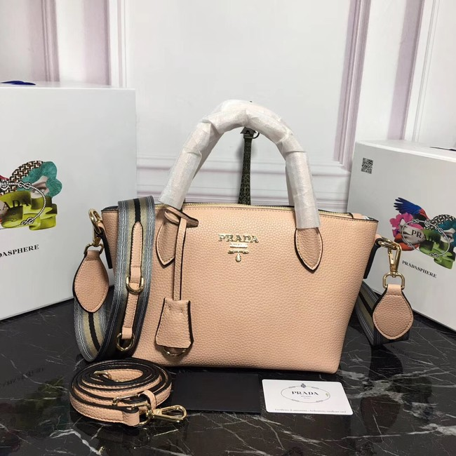 Prada Calf leather bag 1BA111 apricot