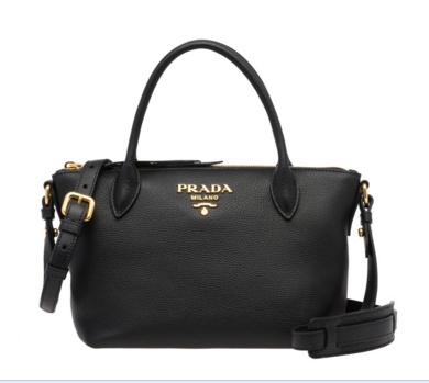 Prada Calf leather bag 1BA111 black