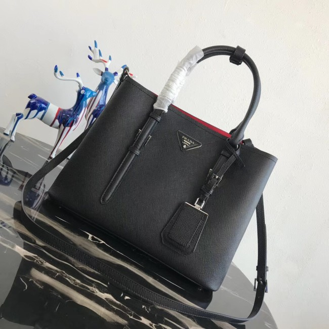 Prada Saffiano original Leather Tote Bag BN2838 black