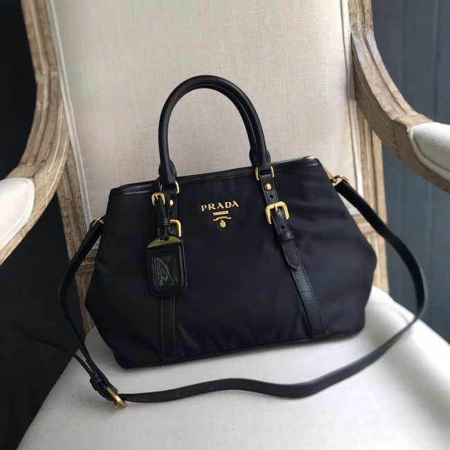 Prada Black Nylon tote bag BN1841 black