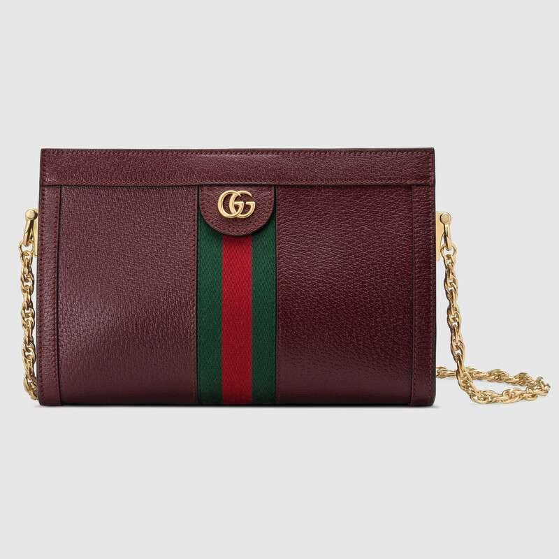 Gucci Ophidia small shoulder bag 503877 Burgundy