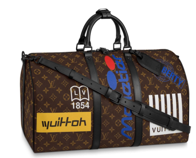 Louis vuitton original KEEPALL BANDOULIERE 50 M44643 M44642 Chestnut