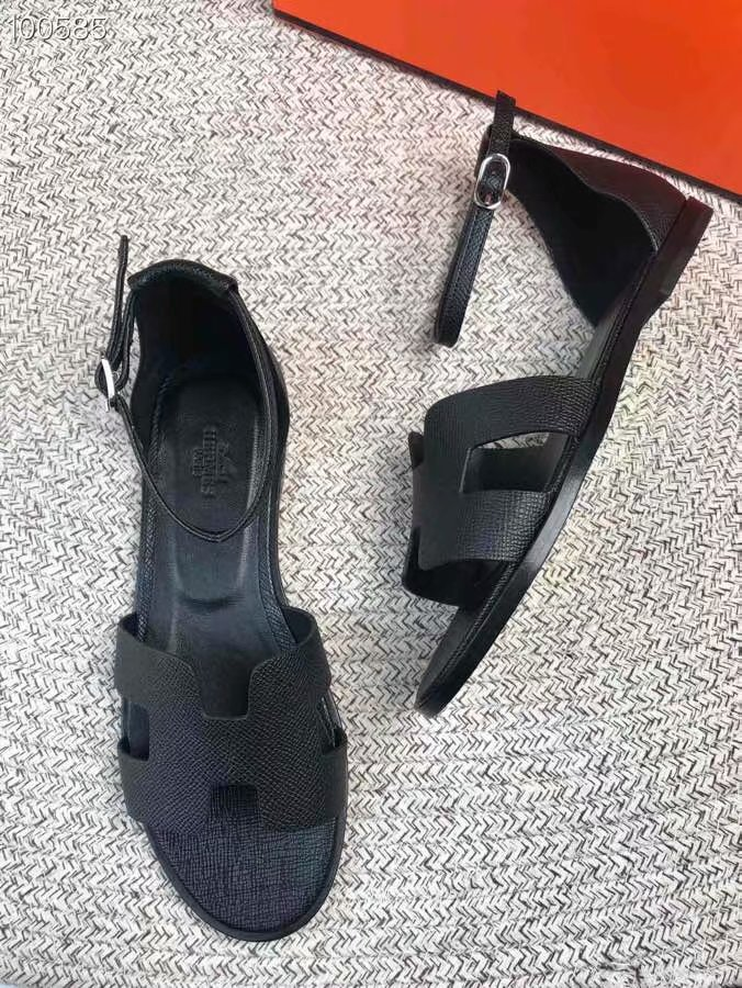 Hermes lady leather Sandals HO844OMF-4