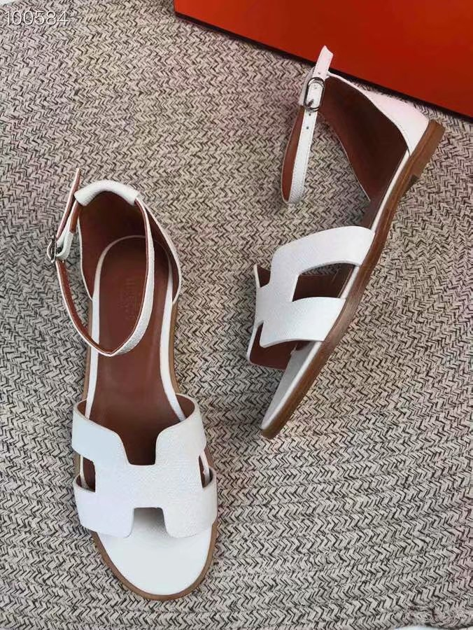 Hermes lady leather Sandals HO844OMF-1