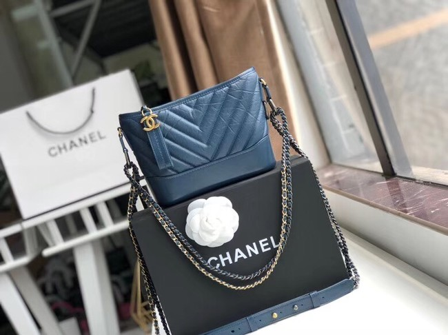 Chanel gabrielle small hobo bag A91810 blue
