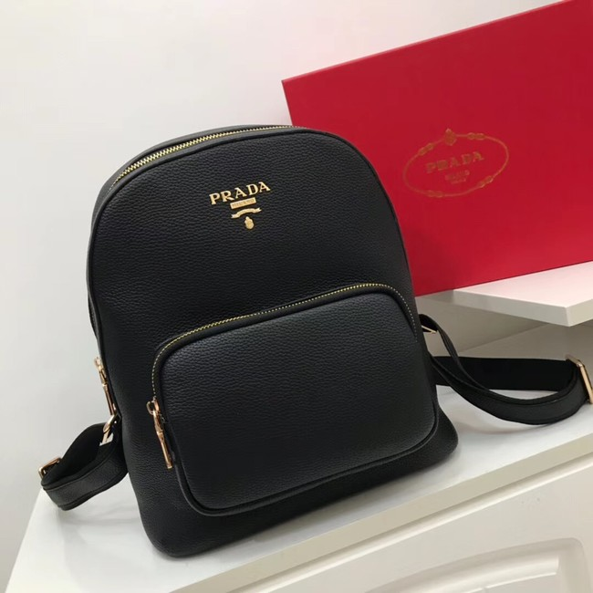 Prada Calf leather knapsack 2825 black
