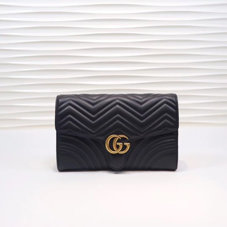 Gucci GG Marmont clutch 498079 black