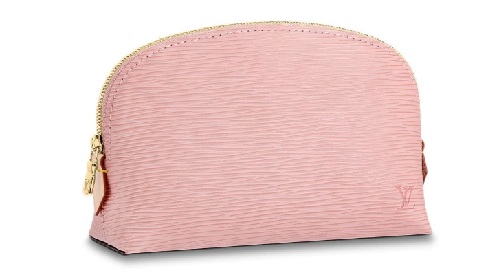 Louis vuitton original Epi Leather COSMETIC POUCH PM M52030 pink Rose Ballerine