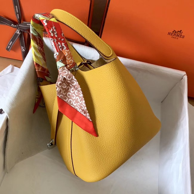 Hermes Picotin Lock PM Bags Original Leather H8688 yellow