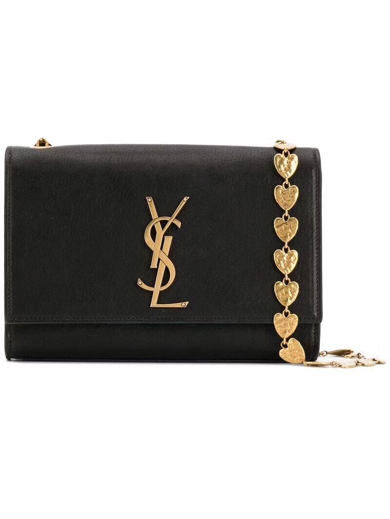 Yves Saint Laurent Kate Small Original Leather Shoulder Bag Y517023 Black
