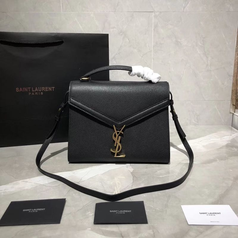 Yves Saint Laurent Original Leather Bag Y578000 Black