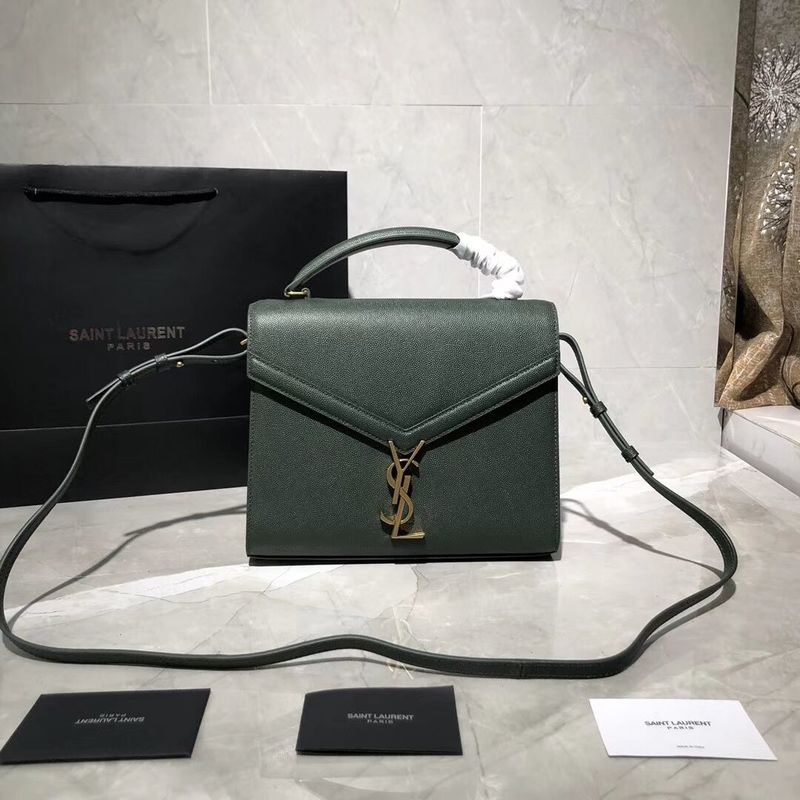 Yves Saint Laurent Original Leather Bag Y578000 Green