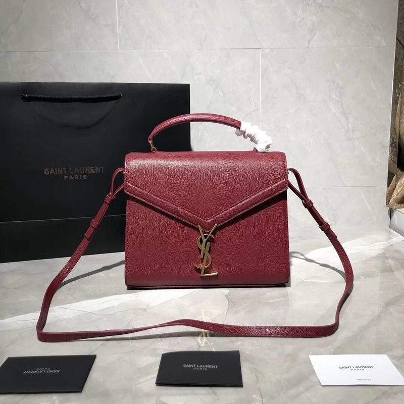 Yves Saint Laurent Original Leather Bag Y578000 Red
