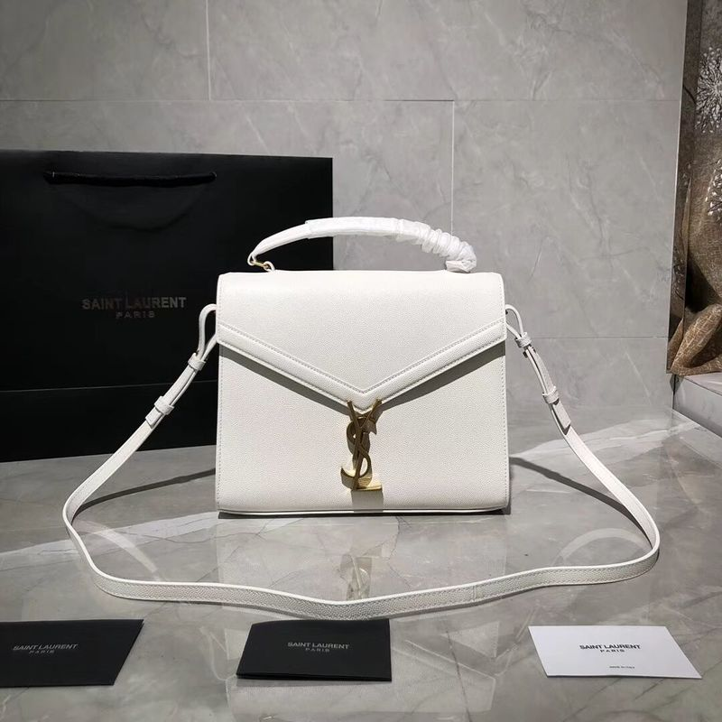 Yves Saint Laurent Original Leather Bag Y578000 White