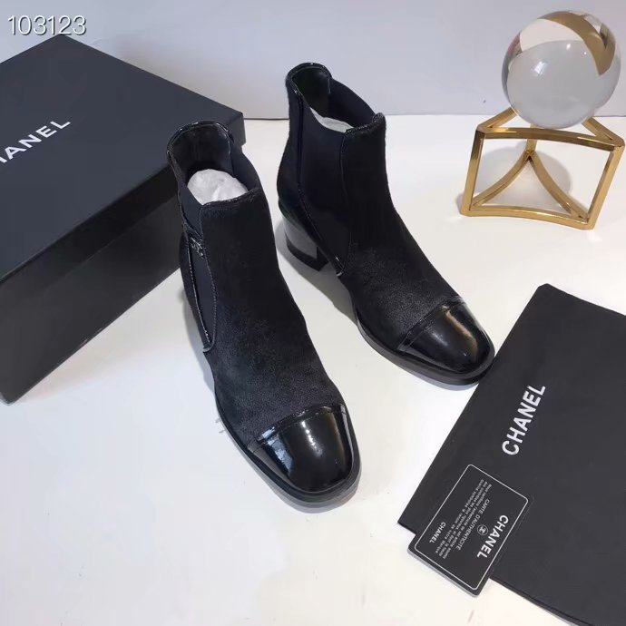 Chanel Shoes CH2536JYX-1 Black