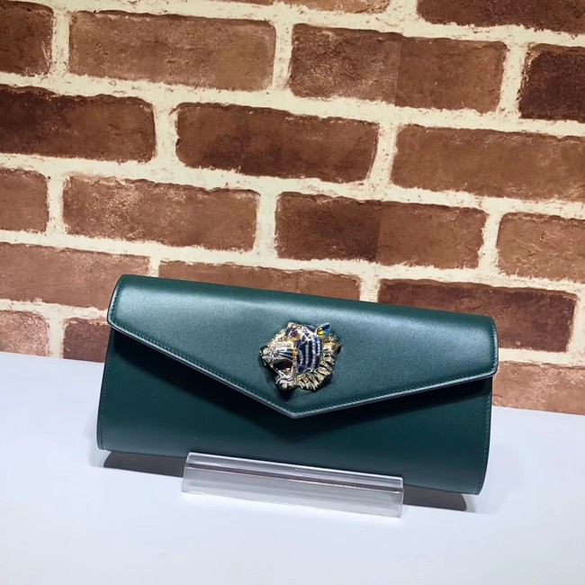 Gucci GG Marmont clutch 576532 green