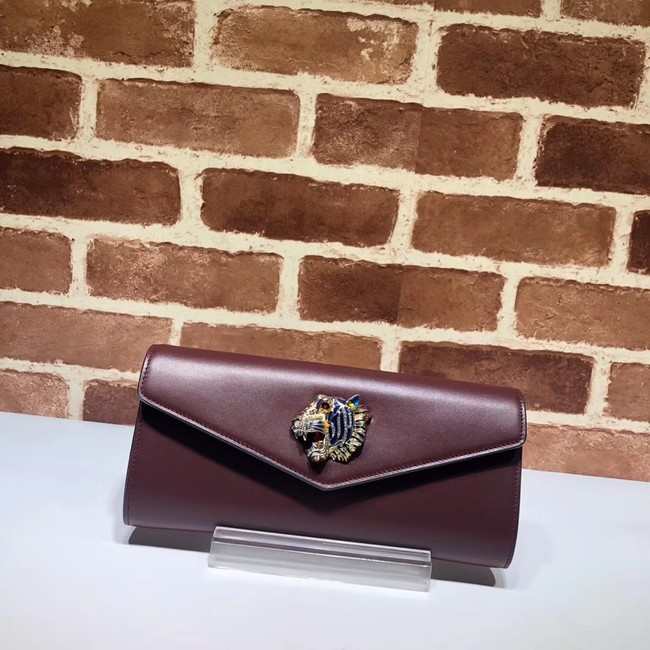 Gucci GG Marmont clutch 576532 Purplish