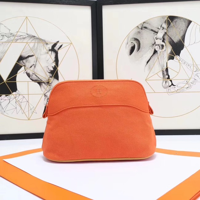 Hermes Cosmetic Bag H3699 Orange