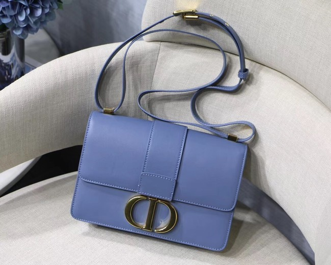 Dior 30 MONTAIGNE CALFSKIN BAG M9203 blue