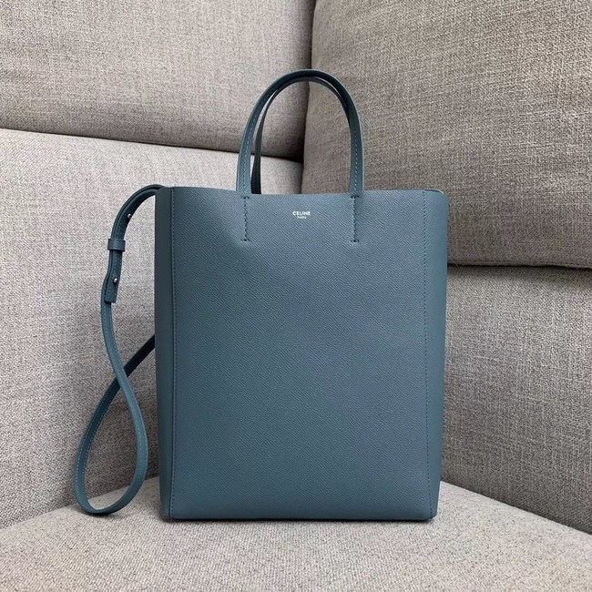 Celine Original Leather CABAS Bag 189813 Blue