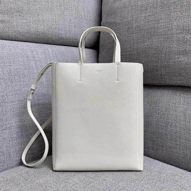 Celine Original Leather CABAS Bag 189813 White