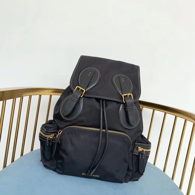 Burberry Large Backpack Fabric BU3699 black