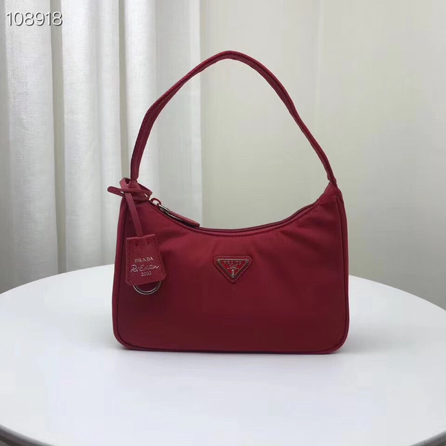 Prada Nylon tote bag 1NE515 red