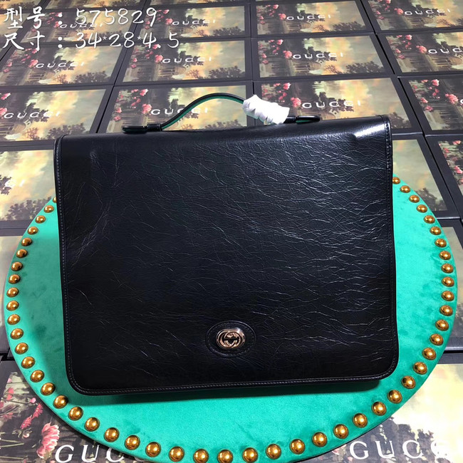 Gucci GG Original Leather tote bag 575829 black