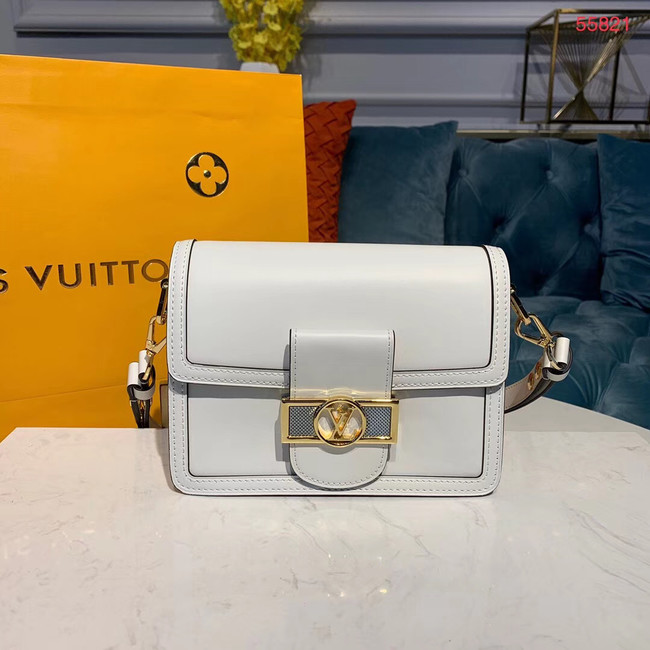 Louis vuitton original DAUPHINE MM M55735 white