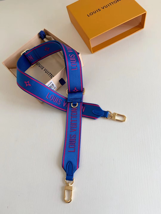 Louis Vuitton Shoulder strap M44823 blue