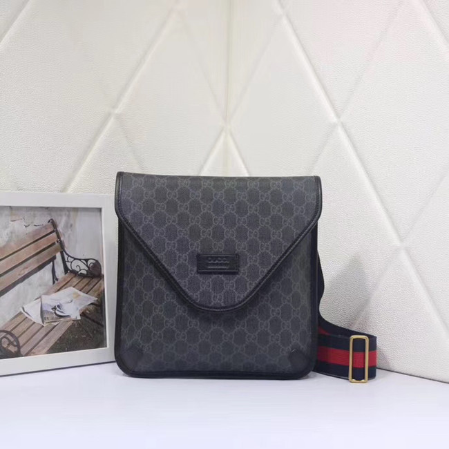 Gucci Neo Vintage GG medium messenger 598604 black