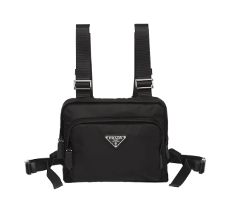 Prada Nylon harness bag 2VL014 black