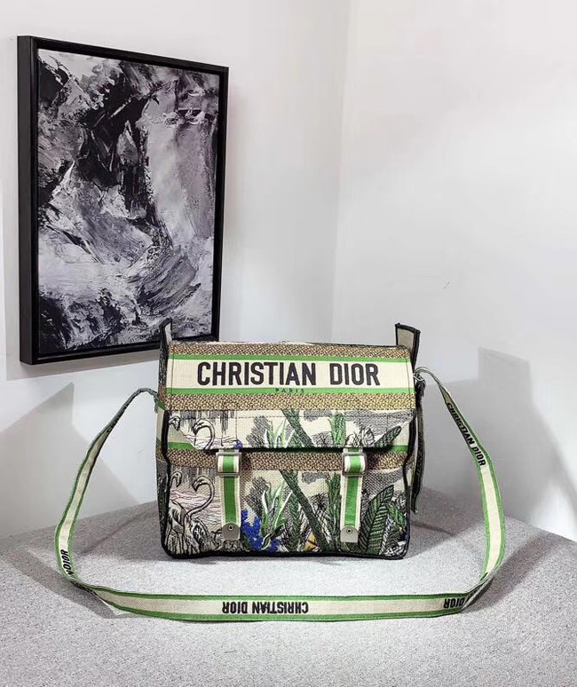 MESSENGER TAS DIOR OBLIQUE DIORCAMP M1291VRIS green