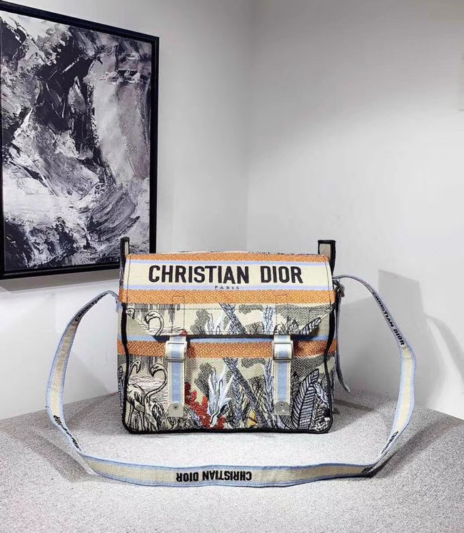 MESSENGER TAS DIOR OBLIQUE DIORCAMP M1291VRIS grey