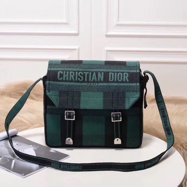 MESSENGER TAS DIOR OBLIQUE DIORCAMP M1291VRIS-2 Blackish green